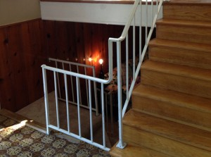 Interior metal stairs by Crown Molding