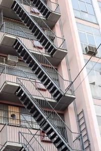 stair rails condos